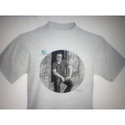 Fan T-shirts Aschgrau