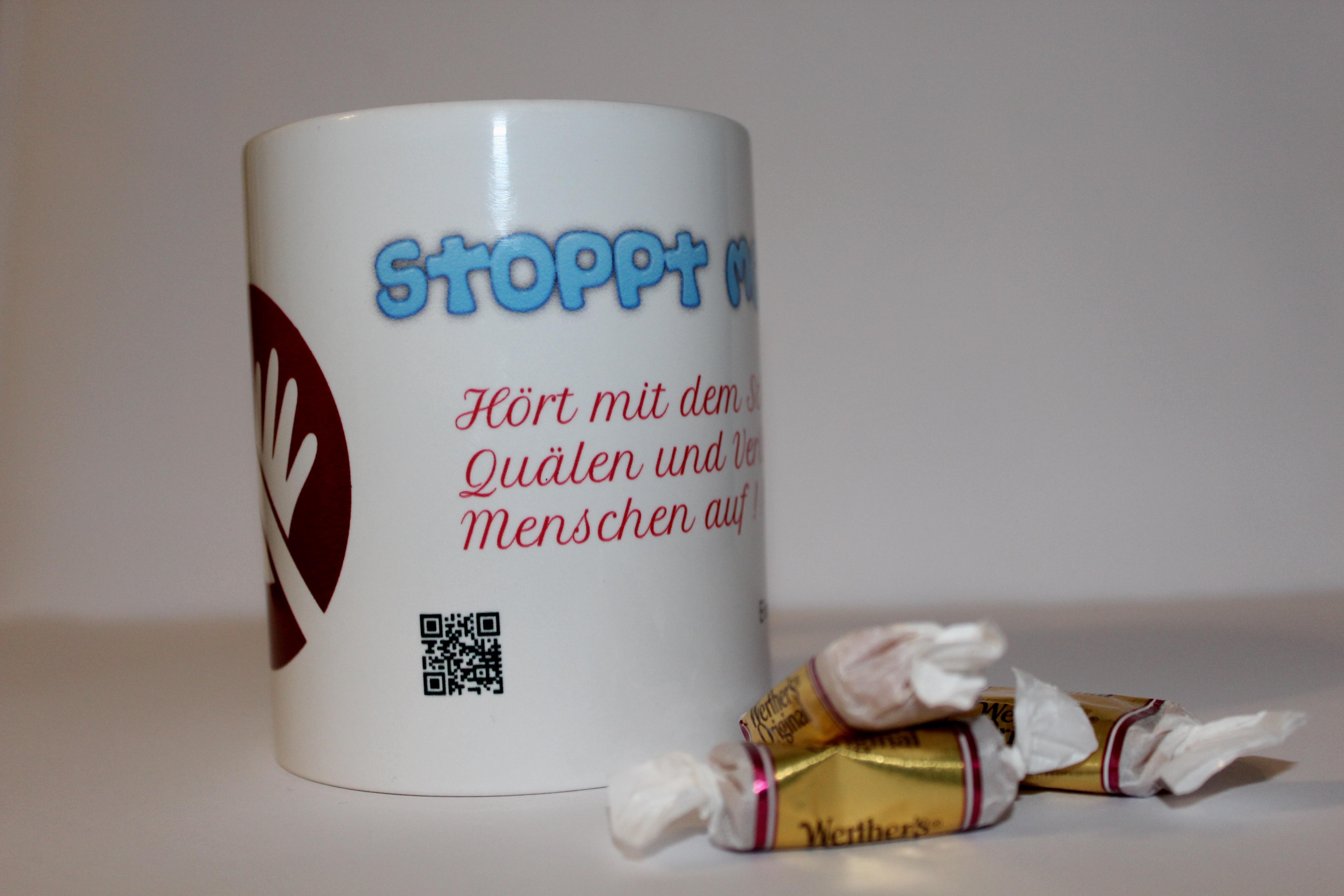 Kampagne Stoppt Mobbing (Tasse)