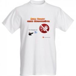 Kampagne Keine Gewalt gegen Einsatzkräfte (T-shirt)