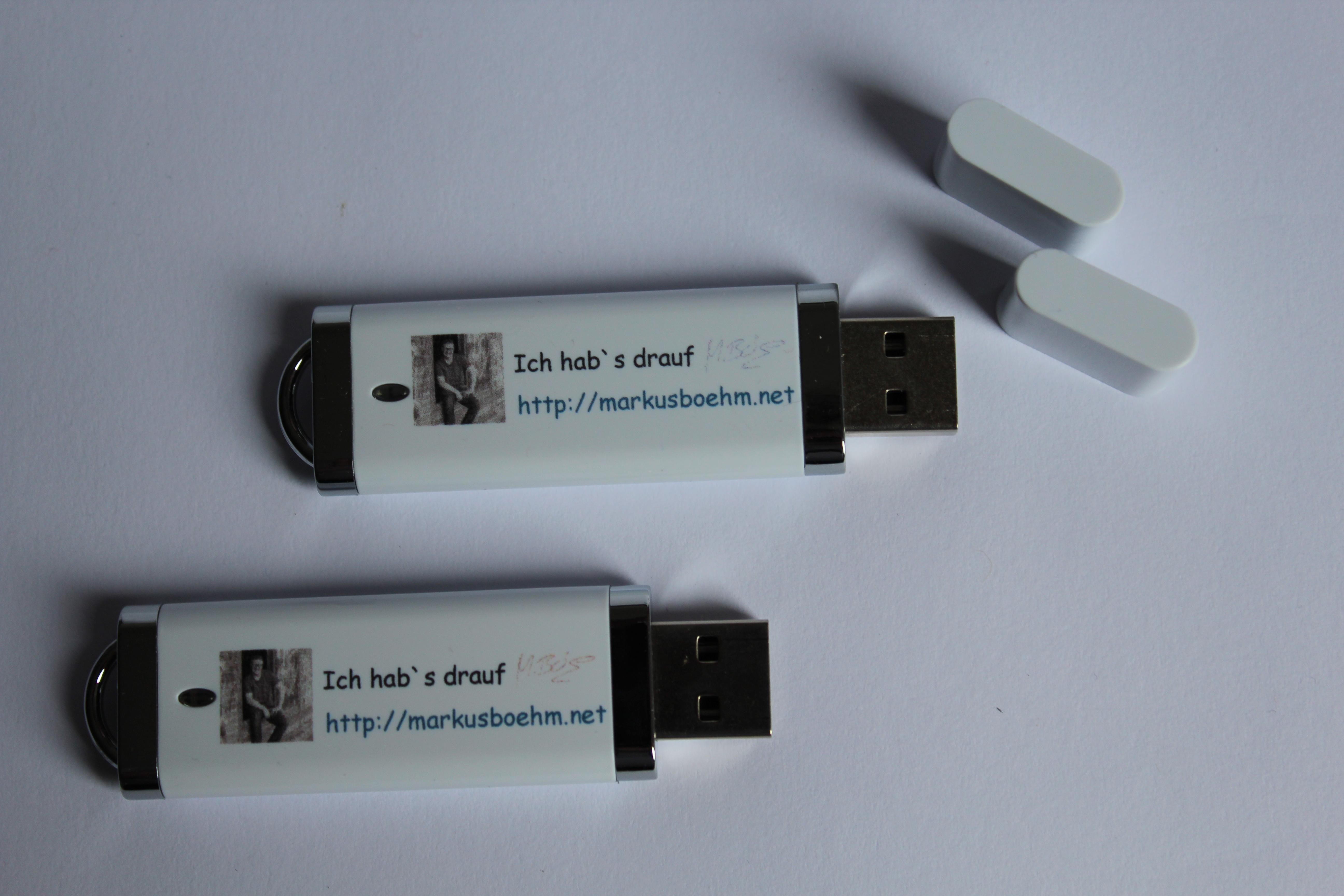 Zuverlässiges Backup mit meinem USB - Stick
