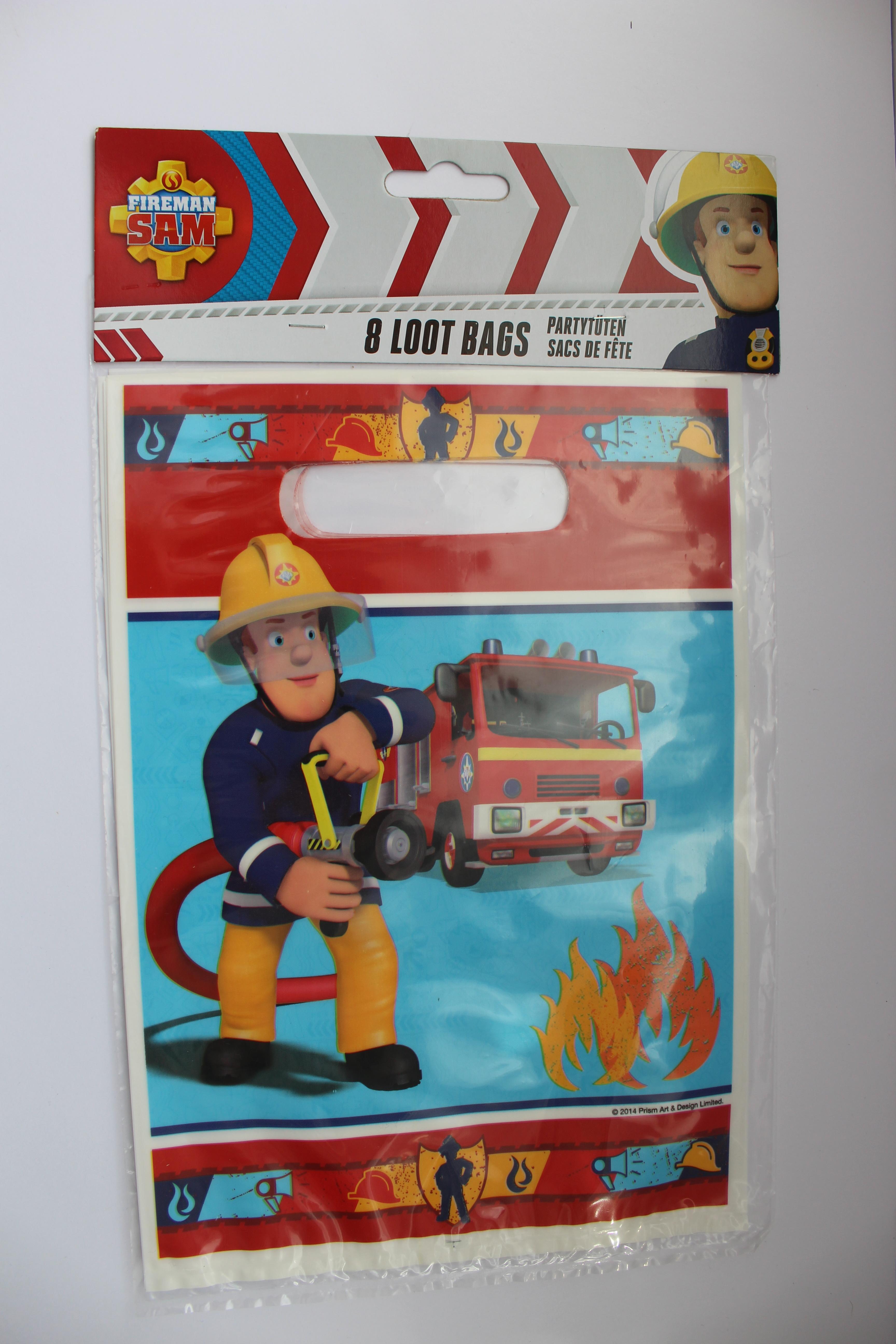 Geschenkbeutel Feuerwehrmann Sam
