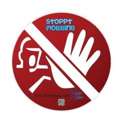 Kampagne Stoppt Mobbing (Aufkleber)