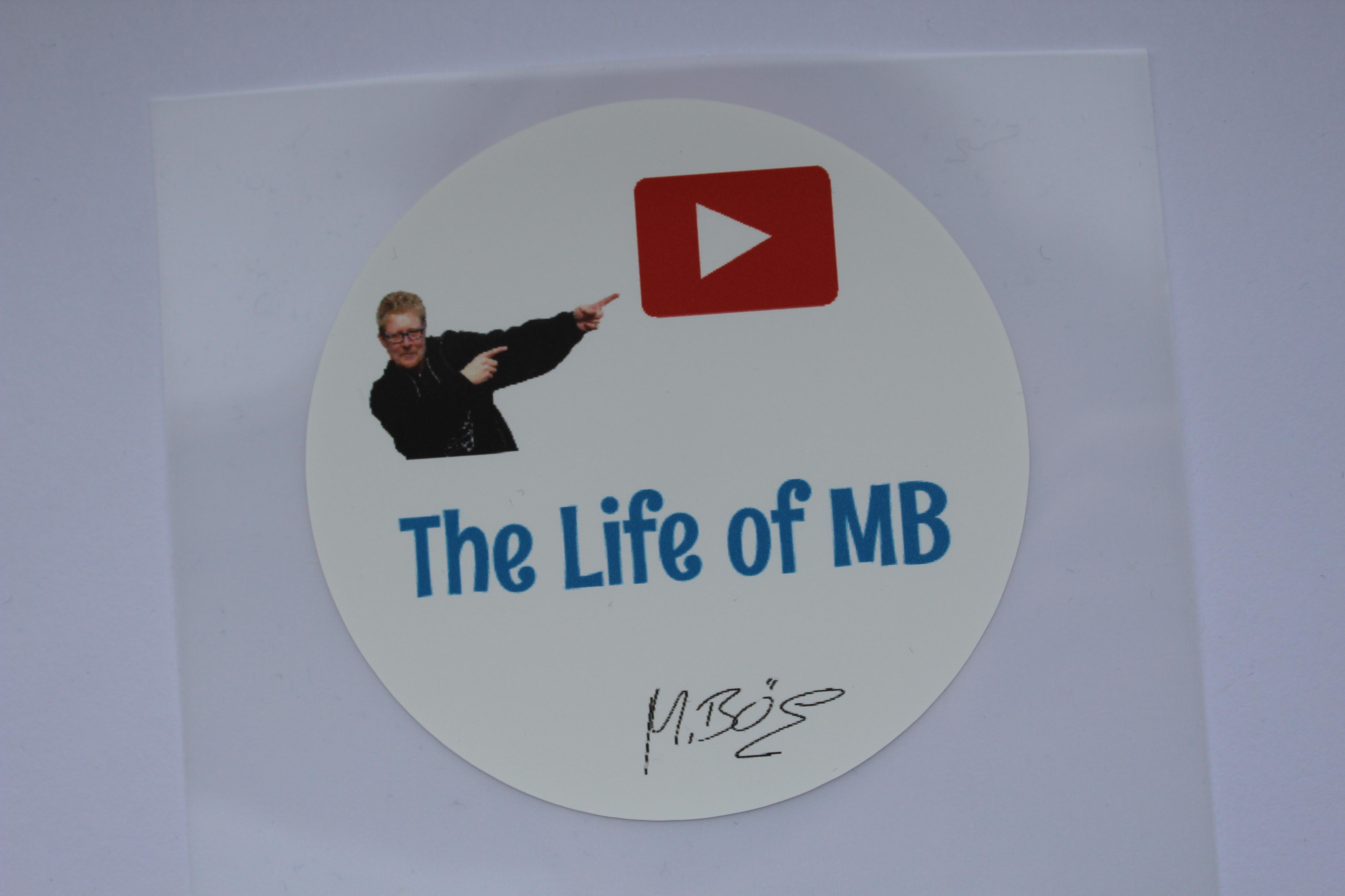 Runde Fanbügeletiketten für jeden YouTube Fan