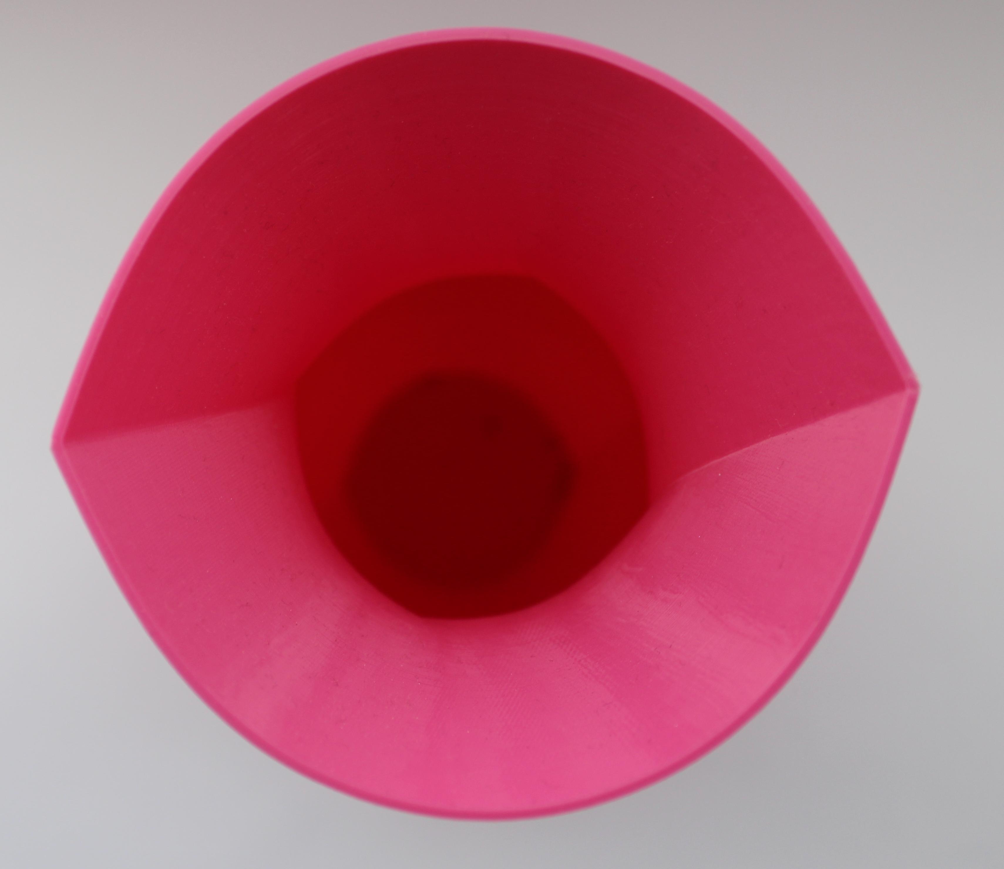 2 Herz Vase
